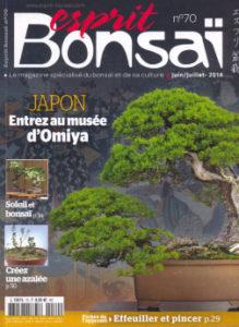 Revue Esprit bonsaï - N°70 de 2014